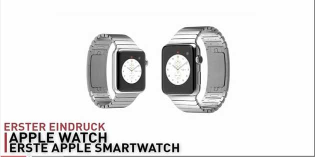 Apple Watch Apple revolutioniert die Armbanduhr